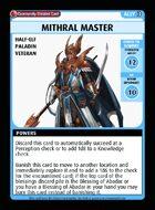 Mithral Master - Custom Card