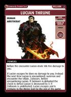 Lucian Thrune - Custom Card