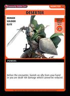 Deserter - Custom Card