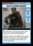 Battle-worn Knight - Custom Card