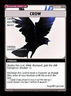 Crow - Custom Card