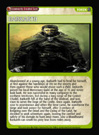 Barkarth - Custom Card