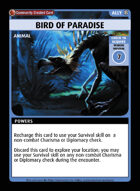 Bird Of Paradise - Custom Card