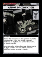 Armor Of Conviction - Custom Card