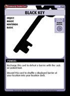 Black Key - Custom Card