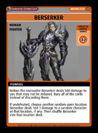 Berserker - Custom Card