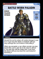 Battle-worn Paladin - Custom Card