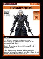 Fiendish Warrior - Custom Card