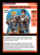 Abigale And Elyan - Custom Card