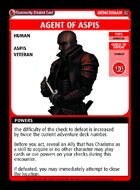 Agent Of Aspis - Custom Card