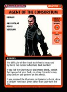 Agent Of The Consortium - Custom Card