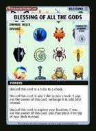 Blessing Of All The Gods - Custom Card