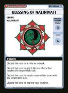 Blessing Of Nalinivati - Custom Card
