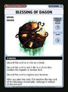 Blessing Of Dagon - Custom Card