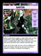 Barter - Custom Card