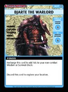 Bjarte The Warlord - Custom Card