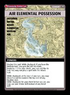 Air Elemental Possession - Custom Card