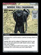 Nordic Full Chainmail - Custom Card