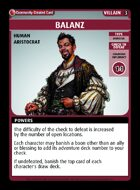 Balanz - Custom Card