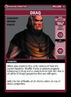 Draq - Custom Card