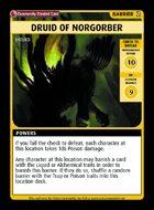 Druid Of Norgorber - Custom Card