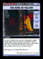 The King In Yellow - Custom Card