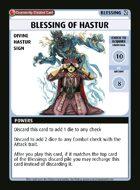Blessing Of Hastur - Custom Card