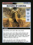 Blessing Of Carcosa - Custom Card