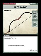 Arco Largo - Custom Card
