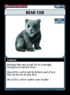 Bear Cub - Custom Card