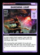 Banishing Light - Custom Card