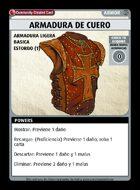 Armadura De Cuero - Custom Card