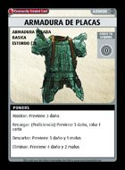 Armadura De Placas - Custom Card