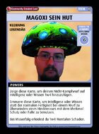 Magoxi Sein Hut - Custom Card