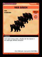 Vier BÄren - Custom Card