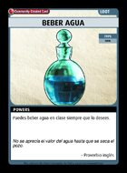Beber Agua - Custom Card