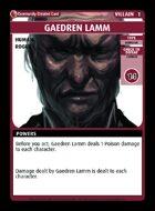 Gaedren Lamm - Custom Card