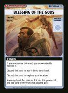 Blessing Of The Gods - Custom Card