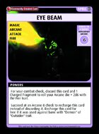 Eye Beam - Custom Card