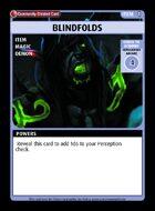 Blindfolds - Custom Card