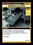 Barrera De Acero - Custom Card