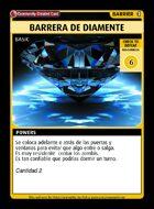 Barrera De Diamente - Custom Card