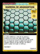 Barrera De Adamantium - Custom Card