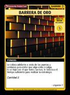 Barrera De Oro - Custom Card