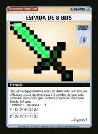 Espada De 8 Bits - Custom Card