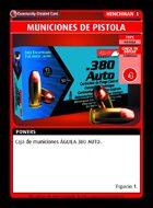 Municiones De Pistola - Custom Card