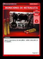 Municiones De Metralleta - Custom Card