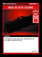 Misil De Alto Calibre  - Custom Card