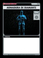 Armadura De Diamante - Custom Card