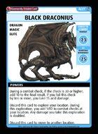 Black Draconius - Custom Card